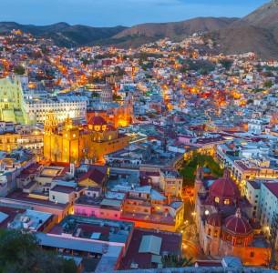 Guanajuato at night (Mexico)